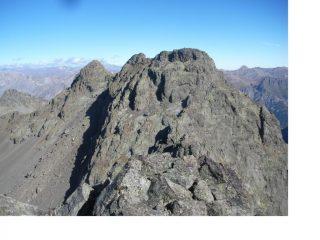 Il Monte del Vallonetto e a sx la Cima Las Blancias..dalla Cima nord di Vens