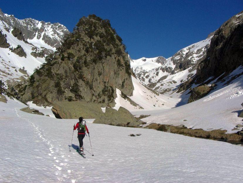 Fouillouse (Pic) o Tuca d'es Caballosper la valle del Remuñe 2012-10-13