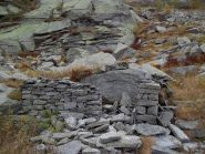Rovine dell'alpe Croselli Alto a quota 2030