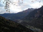 La Valle Antigorio con Premia al centro