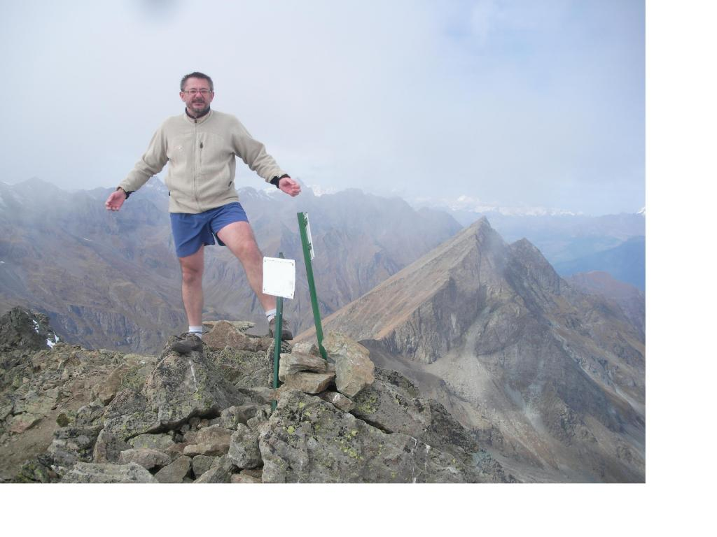 Dani sul Mont Glacier con dietro il Rafray