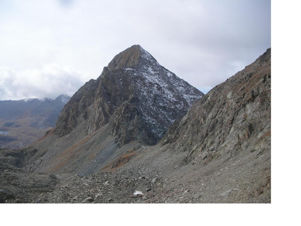 Il Dela' con al centro il Col Fussi..salendo al Glacier
