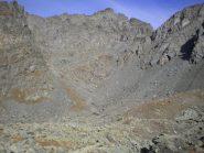 Vista dal pian Mait verso Granero e Meidassa