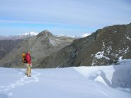 sul ghiacciaio Ferrand