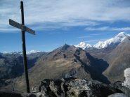 In vetta al Monte Chaz Dura