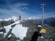 La vetta del Monte Valaisan