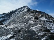 Il Mont Valaisan visto dalla depressione