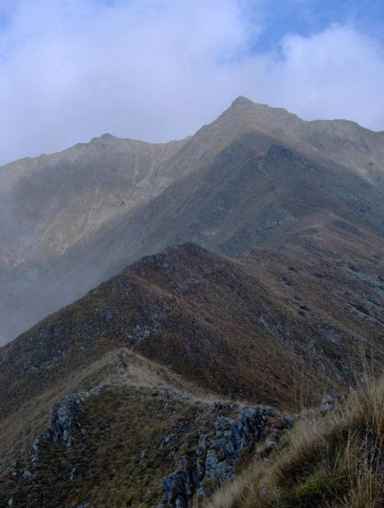 Il sentiero di cresta