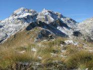 La cresta che sale ai Burè con Monfandì e Liamau