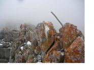 La vetta della Rocca di Miglia..