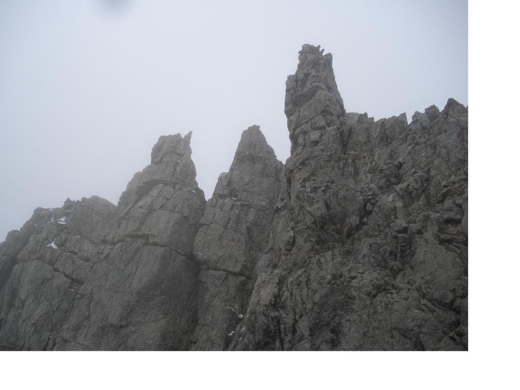 Miglia (Rocca di) cresta Sud dal Col de l'Etroite du Vallon 2012-10-17