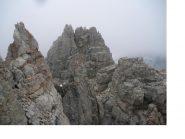 La Rocca di Miglia dalla Cresta sud..