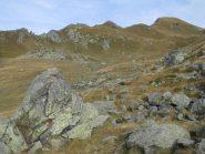 Il vallone che porta al Colle Marmotta