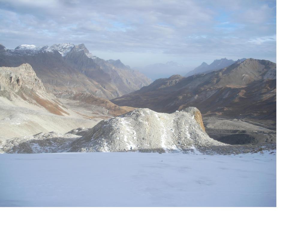 L'alta Val di Rhemes dai pressi del Col du Fond..