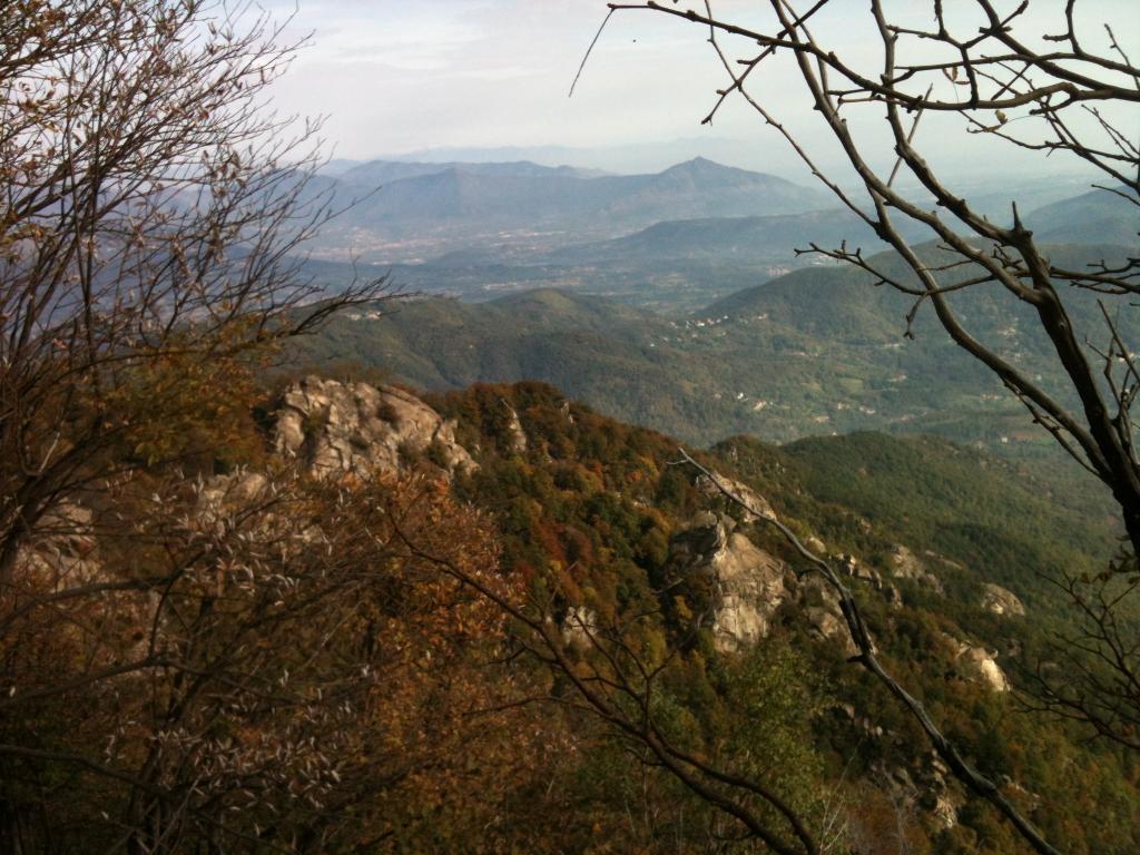 Freidour (Monte) e Tre Denti di Cumiana da Ciom 2012-10-20