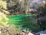 L'intenso colore del Lago Verde