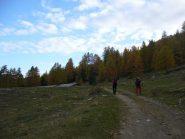 primo tratto del sentiero