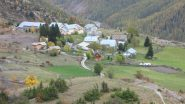 Saint Ours, punto di partenza per la salita (21-10-2012)