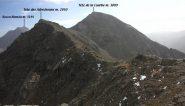 le altre cime in programma viste dalla Tete de l'Eyssiloun (21-10-2012)
