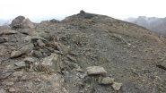 la vasta cima della Tete de la Courbe (21-10-2012)