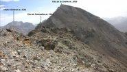 visuale dalla Tete des Adrechouns verso la meta principale (21-10-2012)