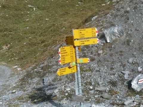Precisione svizzera nella segnaletica