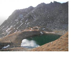 Il piccolo lago Changier..