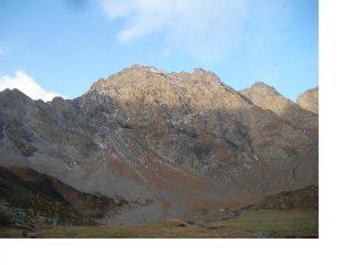La Becca di Pre d'Amont..dai pascoli dell'Alpe Felumaz