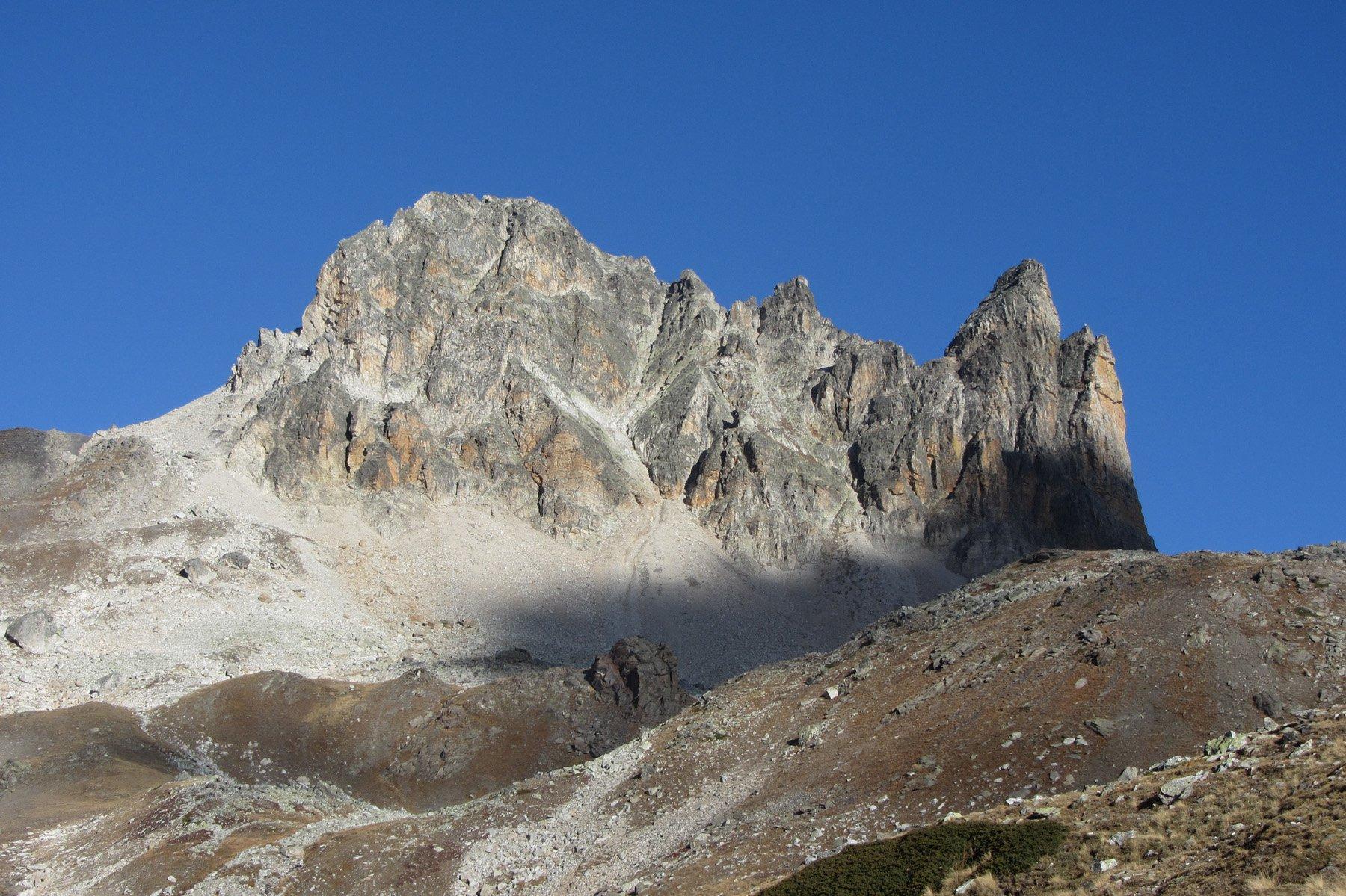 Bissort (Rocca della) cresta SO e traversata al Dente della Bissort 2012-10-23