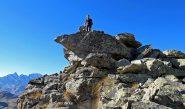 Piero in vetta alla Q. 2619 della cresta di Ciamousseretto