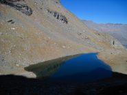 Il lago della Vecchia al pomeriggio