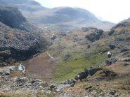 Lago e Alpe Mombarone scendendo verso I Test