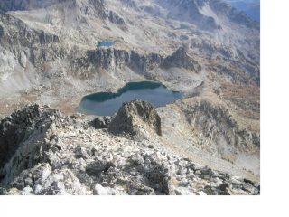 Il Lac Negre' dalla vetta...