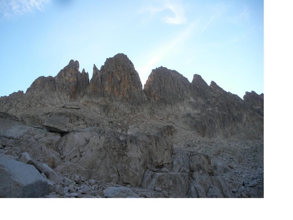 La Cresta Savoia..dal valloncello al Passo Margiola.