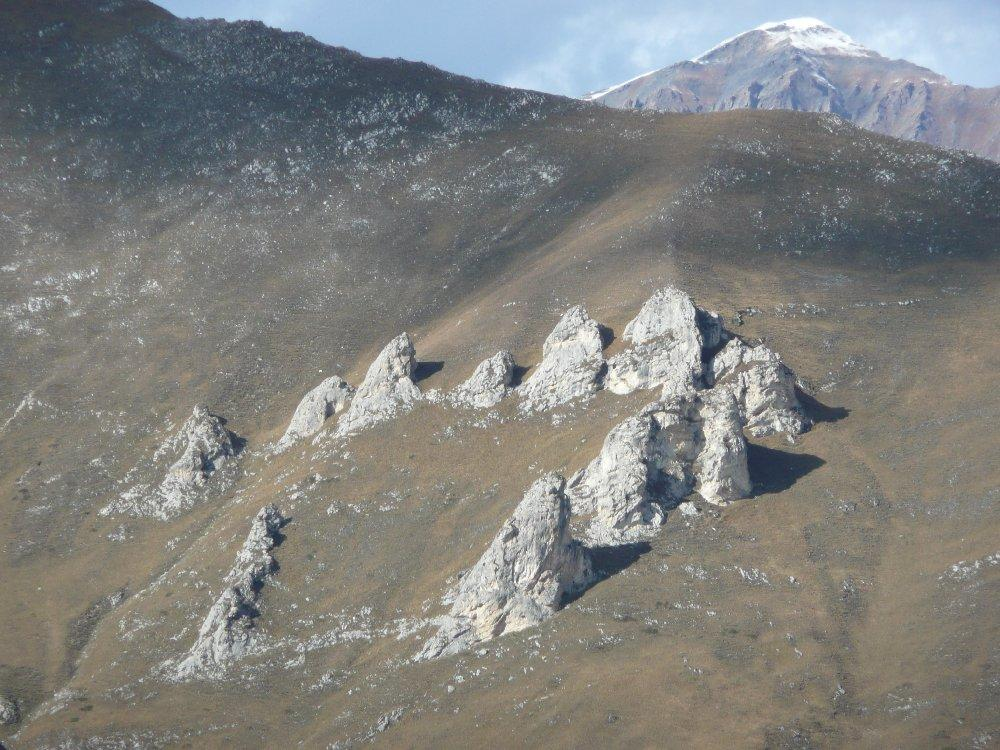 Affioramenti megalitici