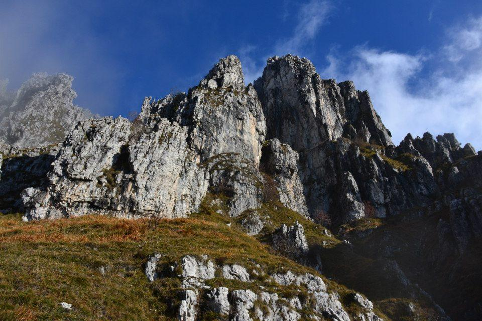 Resegone - Punta Cermenati da Erve, sentiero delle creste 2012-11-02