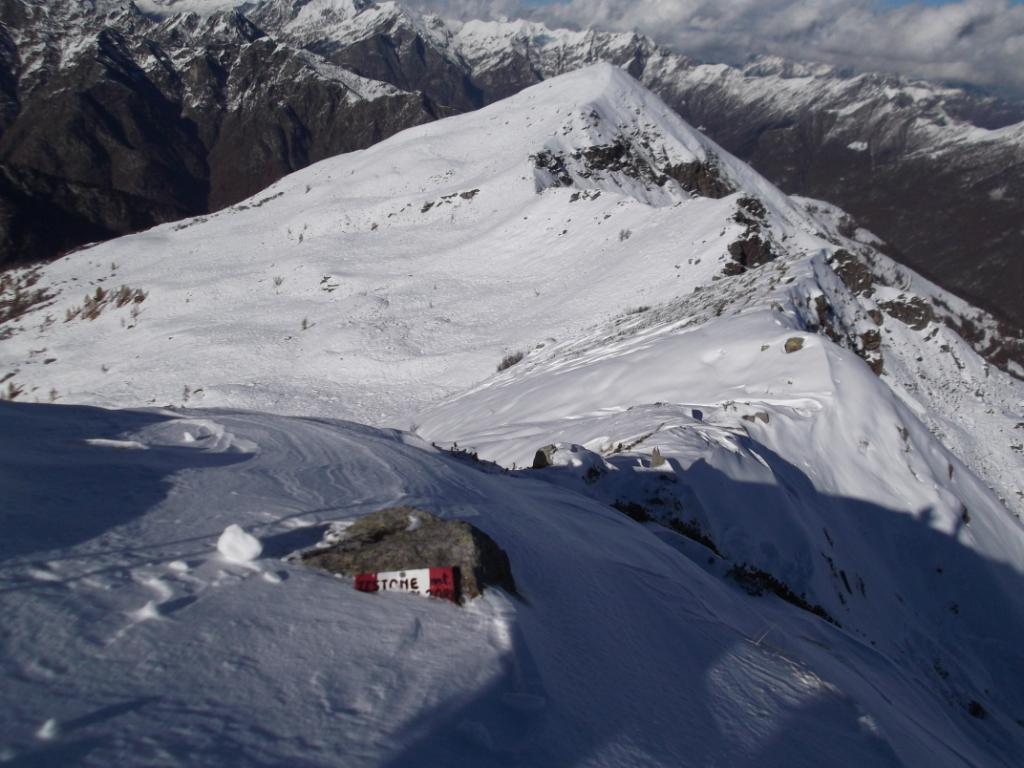 Tre Alpi (Testone dei) dall'Alpe Trogo 2012-11-02