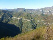 il versante di Balestrino