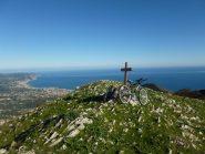 Il monte Acuto...vista sul mare