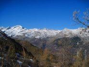 Le Levanne e la Val Grande dal colle