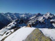 Testata della Val d'Ala dalla cima