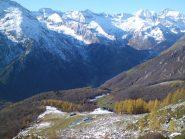 Alpe d'Attia salendo al colle