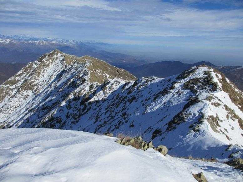Cresta che porta alla Torretta