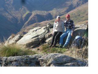 Con mamma Maria in vetta al Monte Calvo..