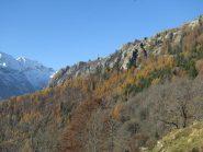 Vista sul Mont Bellin da Nivolastro