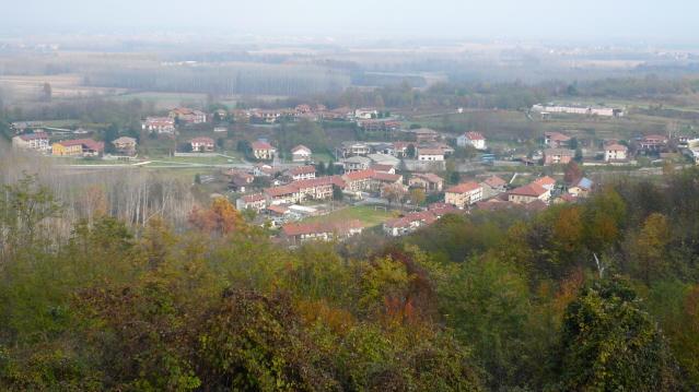 Trinità (Santuario della) anello da Ivrea per Mercenasco, Pranzalito 2012-11-15