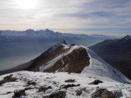 06 - la cresta verso la Cima Longhede vista dalla Becca d'Aver