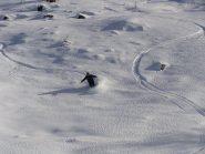 ancora zone con bella neve