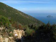 Il sentiero dell'onda e l'Isola Gallinara