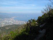 Sul crinale verso Albenga